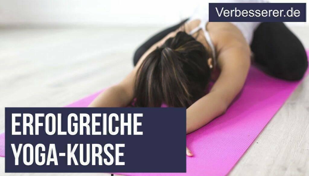 Yoga Kurse online abieten