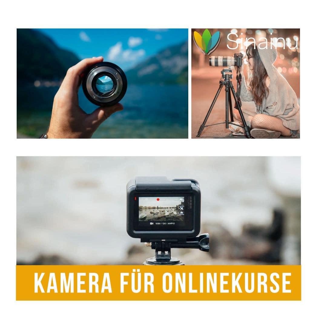 Kamera für Online-Kurse